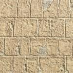 Обработанный камень охра
