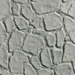 Крупный камень серый